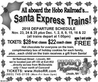 Santa Express Trains!