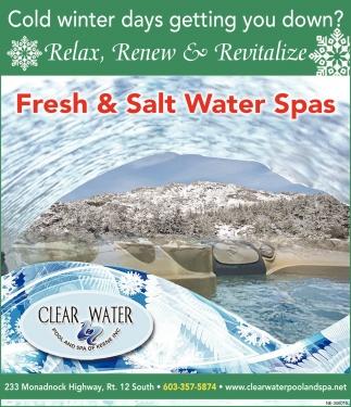 Fresh & Salted Water Spas