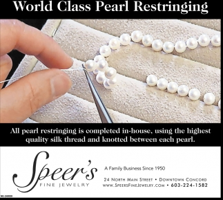 World Class Pearl Restringing