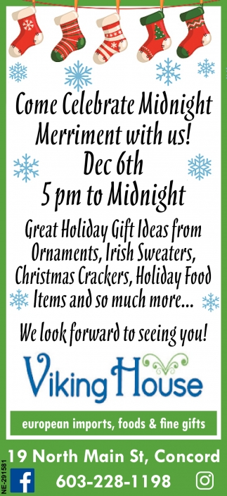 Come Celebrate Midnight Merriment