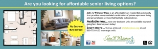 Are You Looking For Affordable Senior Living?