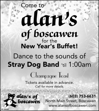 Come To Alan's Of Boscawen