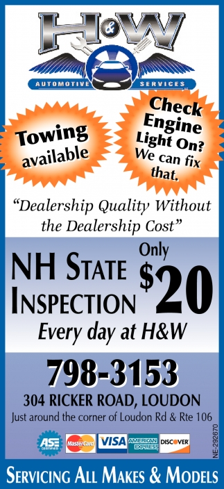 NH State Inspection