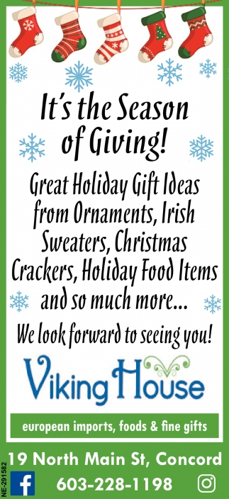 It's The Season Of Giving!