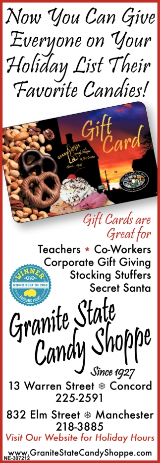 Now You Can Give Everyone On Your Holiday List Their Favorite Candies!