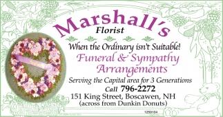 Funeral & Sympathy Arrangements