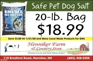 Safe Pet Dog Salt