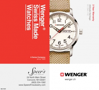Wenger Swiss Made Watches