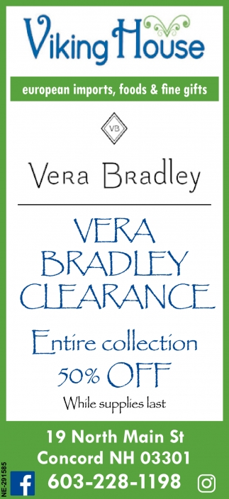 Vera Bradley Clearance