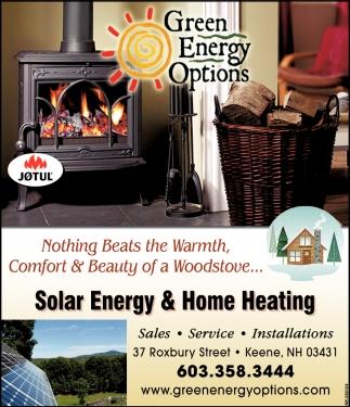 Solar Energy & Home Heating