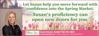 Let Susan Help You Move Forward