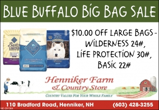 Blue Buffalo Big Bag Sale
