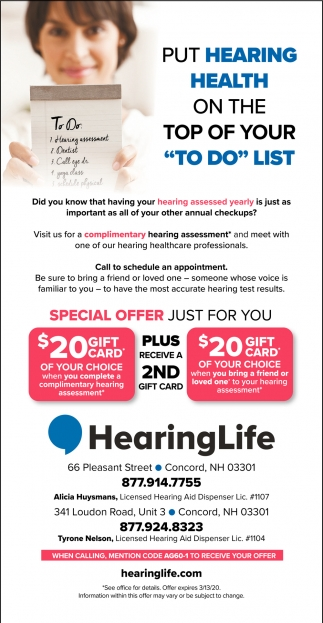 Put Hearing Health On Top Of Your To Do List