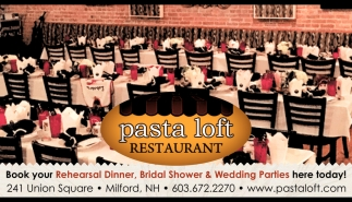 Book Your Rehearsal Dinner