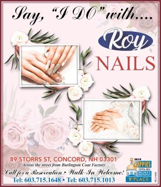 Say I Do With Roy Nails