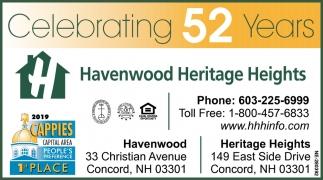 Celebrating 52 Years