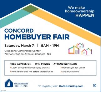 Concord Homebuyer Fair