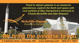 We Bring The Universe To You!