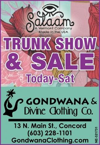 Trunk Show & Sale