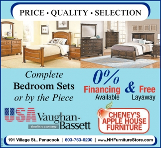Complete Bedrooms Sets Or By The Piece