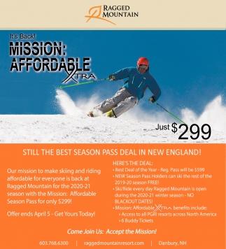 Still The Best Season Pass Deal In New England!