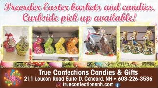 Preorder Easter Baskets And Candies.
