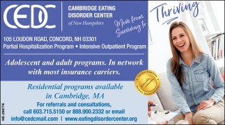 Residential Programs Available In Cambridge, MA