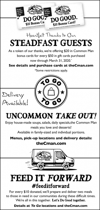Uncommon Take Out!