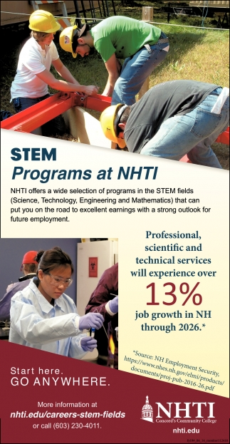 STEM Programs At NHTI