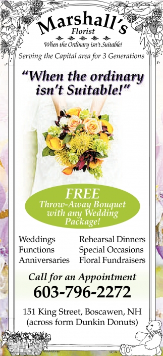 Free Throw-Away Bouquet