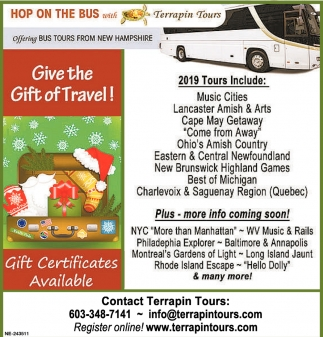Give The Gift Of Travel!