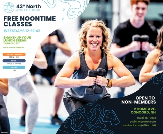 Free Noontime Classes