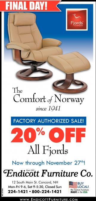 The Comfort Of Norway
