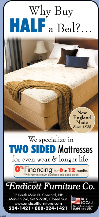 Why Buy Half A Bed?