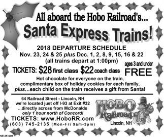 Santa Express Trains!