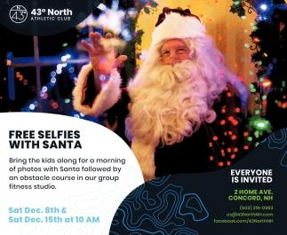 Free Selfies With Santa