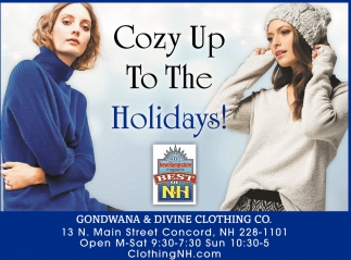 Cozy Up To The Holidays!