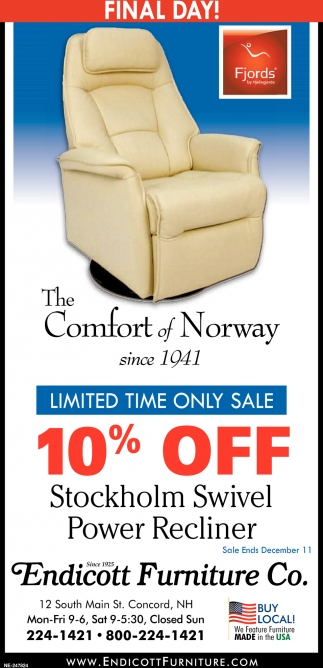 The Comfort Of Norway  Final Day!